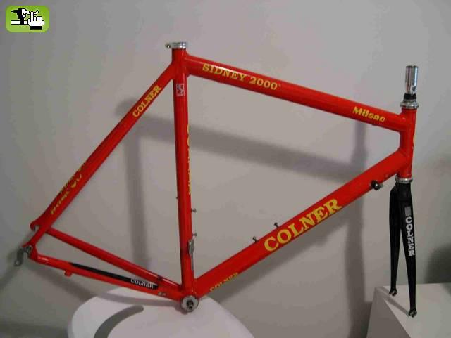 cuadro Colner Milano 2000 venta bicicleta btt