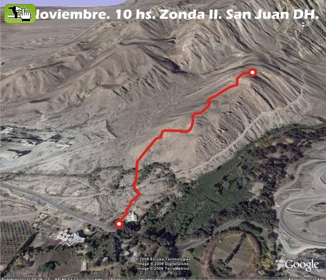 Circuito Zonda San Juan : Carrera dh san juan circuito zonda downhill