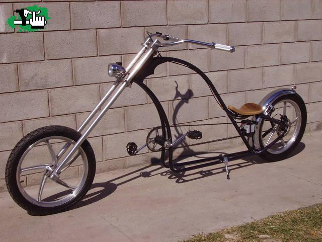 Bicicleta Chopper Artesanal! usada en venta BTT