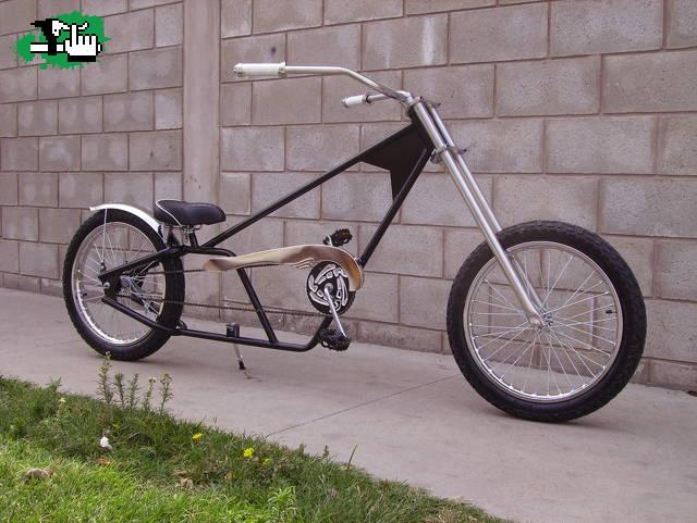 Bici Chopper   Car Interior Design