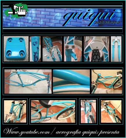 Bicicleta Quiqui Aerografia Pinturas Personalizadas. usada en venta BTT 42e4f01def8f3