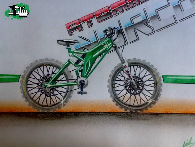 Dibujo Norco Atomik Bicicleta Btt