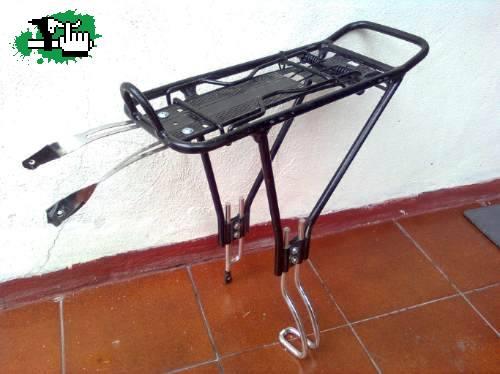 c79239108e8 Portaequipaje para bicicleta con freno a disco usada en Venta - BTT