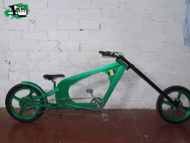 MI PRIMERA BICI CHOPPER Bicicleta BTT