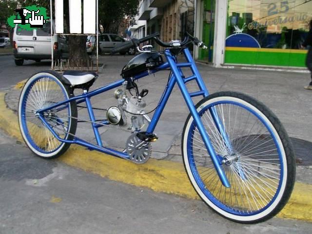 Bici con motor chopper king ? Bicicleta BTT