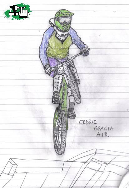 Un Par De Dibujos Foto Bicicleta Btt