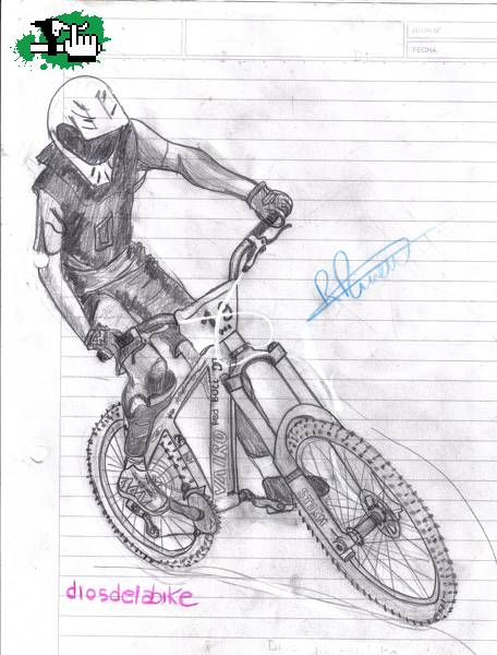 Nuevo Dibujo Foto Bicicleta Btt