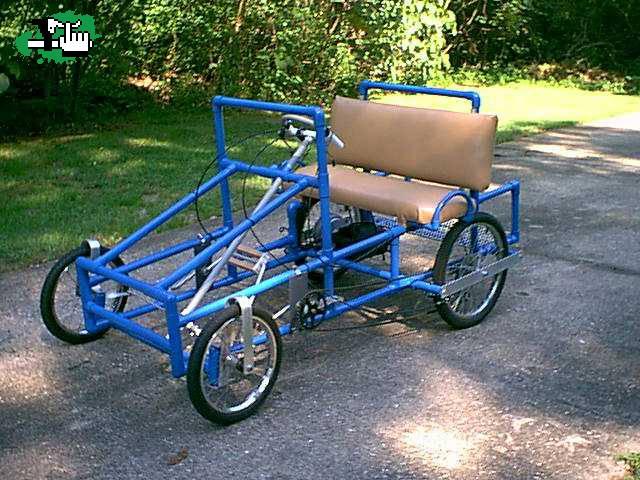 Build Your Own Golf Cart Kit >> algo de 4 ruedas Foto Bicicleta BTT