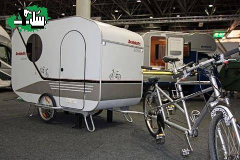 Casas rodantes para bici foto for Casa rodante para parrilla