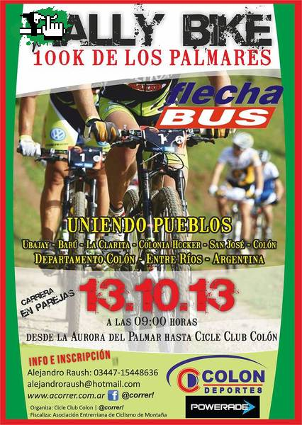 RALLY BIKE 100km Los Palmares (E.R.)