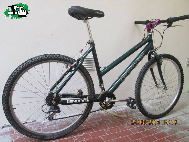 acf31578821 cannondale woman cad 1 año 1994 totalmente restaurada cannondale super v700  1998 on one inbred 2012 cannondale m300 1996 cannondale m300 woman 1996