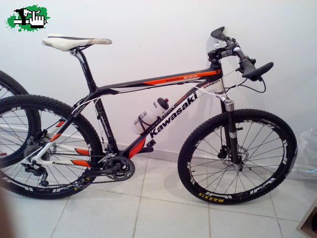 KAWASAKI CARBONO KHT 500 usada Bicicleta en Venta - BTT