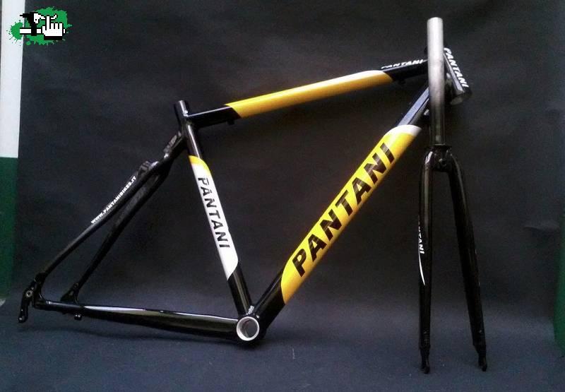 Cuadro Pantani Nuevo De Ruta. Vainas De Carbono. Talle 48 usada en ...
