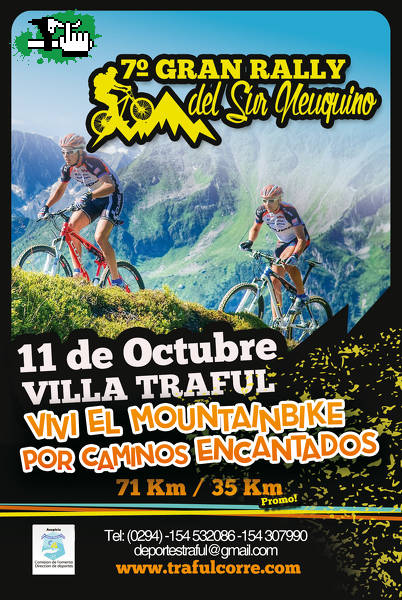 Gran Rally del Sur Neuquino mountainbike  Villa Traful