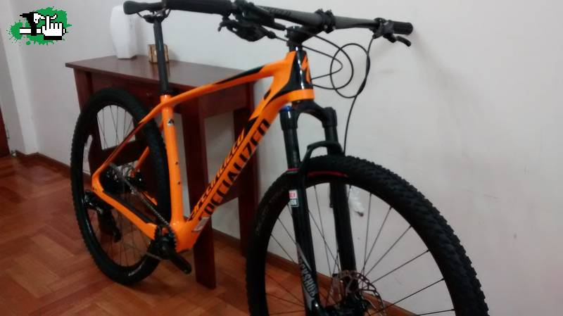 7f752a4bdce Specialized Stumpjumper COMP CARBON 29 WORLD CUP 2016! Talle L nueva ...