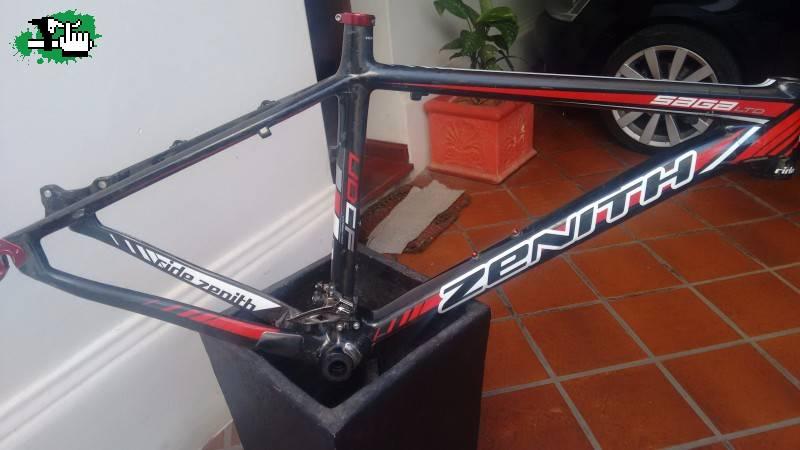 Cuadro Zenith Saga LTD de carbono tope de gama usada Bicicleta en ...
