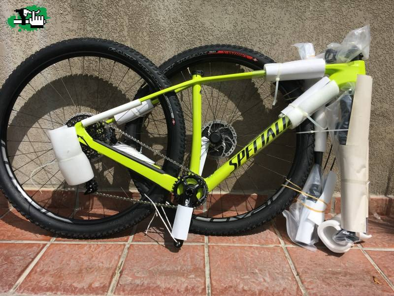 5950aebd806 VENDIDO Specialized Stumpjumper Elite Carbon 29 World Cup 2016. $ 73500  pesos. GManini