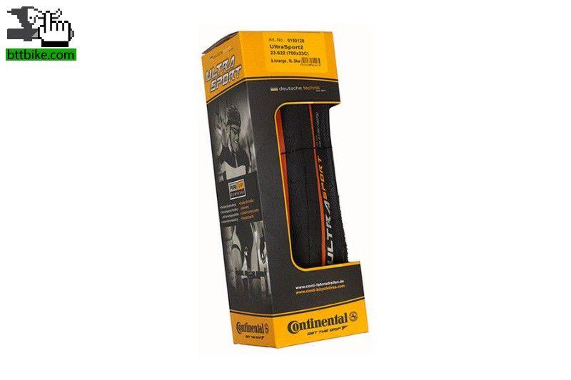 cubiertas continental ultra sport ii orange nueva en venta btt. Black Bedroom Furniture Sets. Home Design Ideas