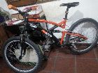 Vendo mi bici doble suspensi�n 11000 pes